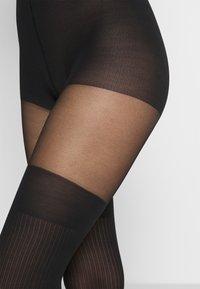 Swedish Stockings - DAGMAR OVERKNEE TIGHTS - Sukkahousut - black - 2