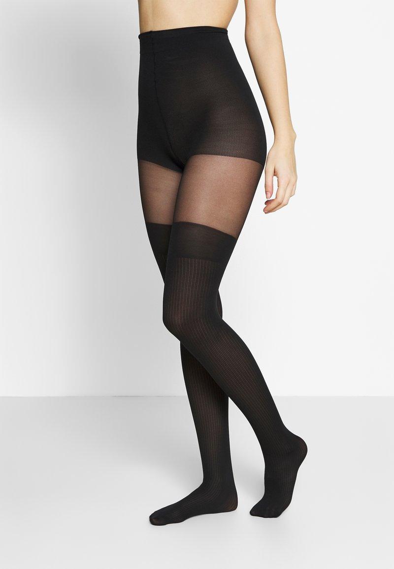 Swedish Stockings - DAGMAR OVERKNEE TIGHTS - Sukkahousut - black