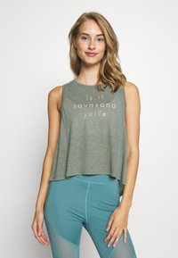 Sweaty Betty - SWING - Topper - sage green - 0