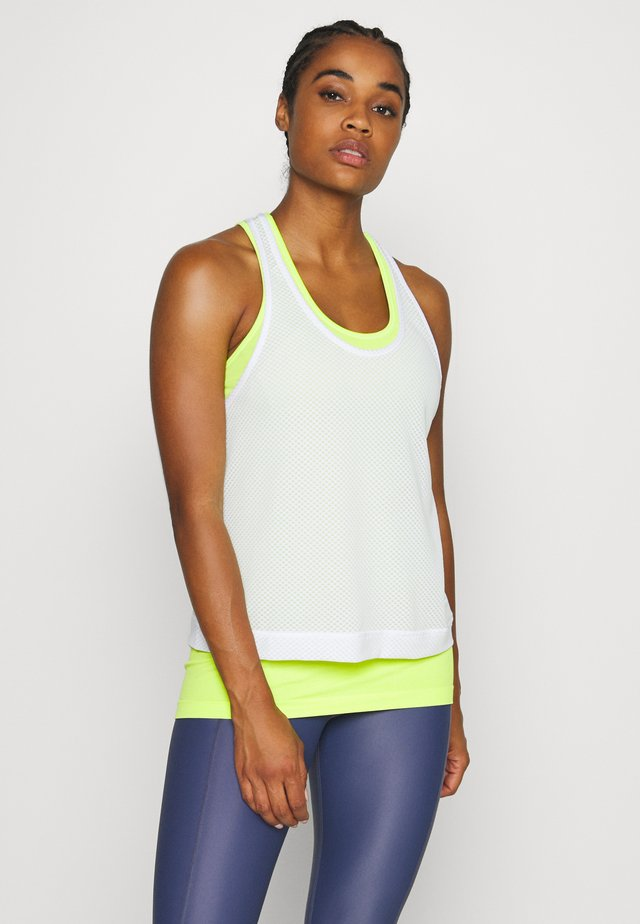DOUBLE TIME WORKOUT VEST - Top - white