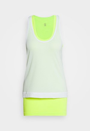 DOUBLE TIME 2 IN 1 WORKOUT VEST - Top - white