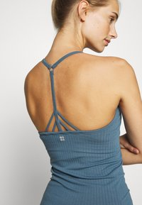 Sweaty Betty - NAMASTE SEAMLESS YOGA - Top - stellar blue - 5