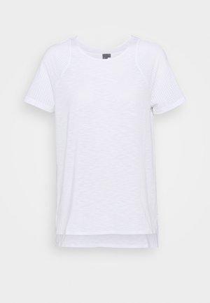 BREEZE RUNNING - T-shirt basic - white