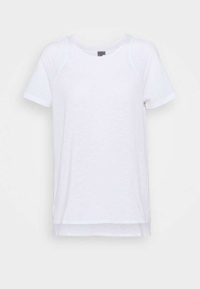 BREEZE RUNNING - T-shirts - white