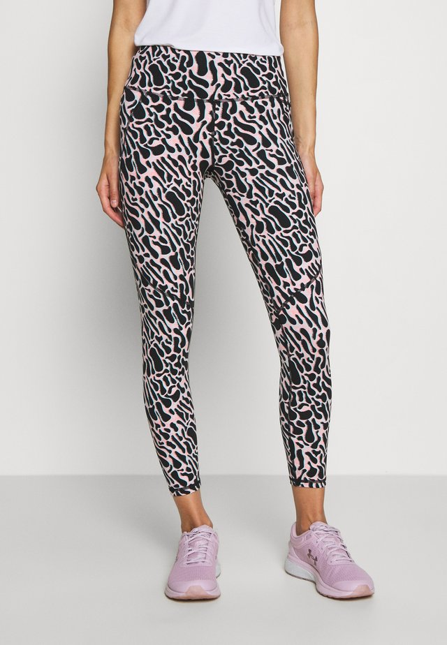 POWER SCULPT WORKOUT LEGGINGS - Collant - black psychedellic