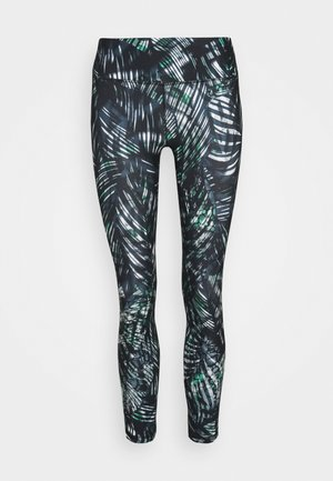 CONTOUR WORKOUT LEGGINGS - Punčochy - beetle blue