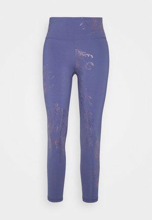 7/8 WORKOUT LEGGINGS - Leggings - crown blue/bronze
