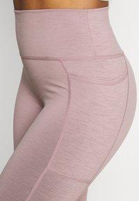 Sweaty Betty - SUPER SCULPT 7/8 YOGA LEGGINGS - Legging - velvet rose/pink - 4