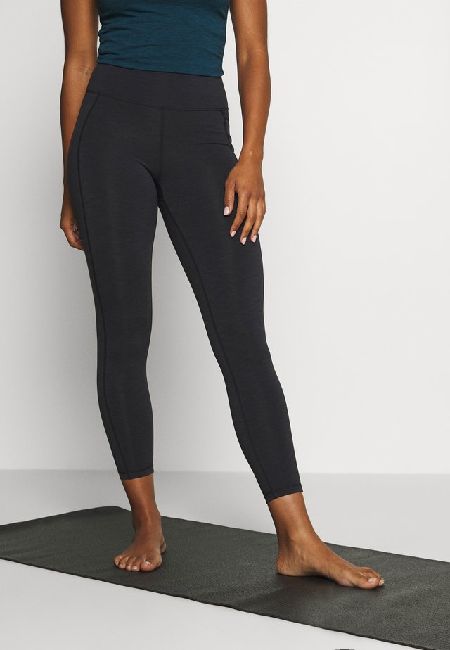 SUPER SCULPT 7/8 YOGA LEGGINGS - Tights - black marl