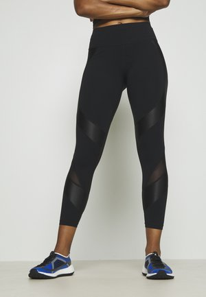 POWER SCULPT WORKOUT LEGGINGS - Medias - black