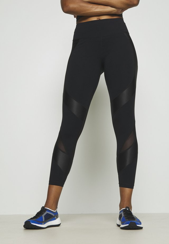 POWER SCULPT WORKOUT LEGGINGS - Tights - black