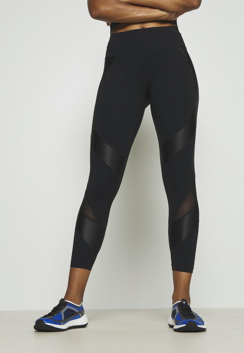 Sweaty Betty - POWER SCULPT WORKOUT LEGGINGS - Legging - black