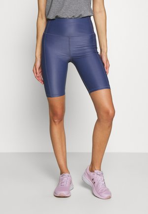 HIGH SHINE WORKOUT SHORT - Legging - crown blue