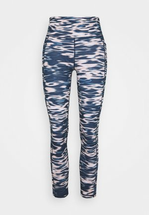 SUPER SCULPT YOGA LEGGINGS - Legging - stellar blue water