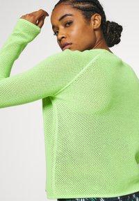 Sweaty Betty - IDOL JUMPER - Sweater - green alert - 4
