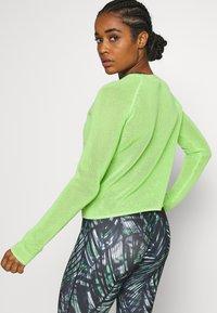 Sweaty Betty - IDOL JUMPER - Sweater - green alert - 2