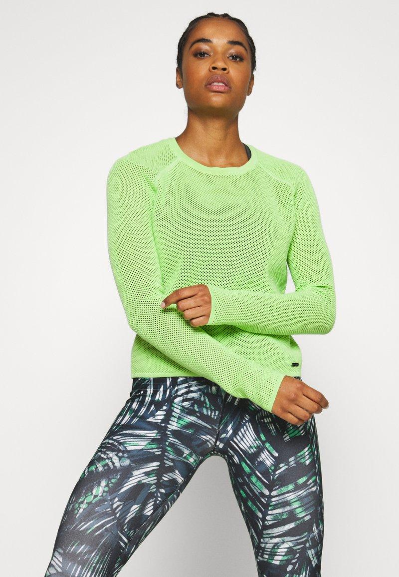Sweaty Betty - IDOL JUMPER - Sweater - green alert