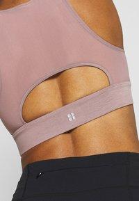 Sweaty Betty - STUDIO OPEN BACK SPORTS BRA - Sport BH - velvet rose pink - 4