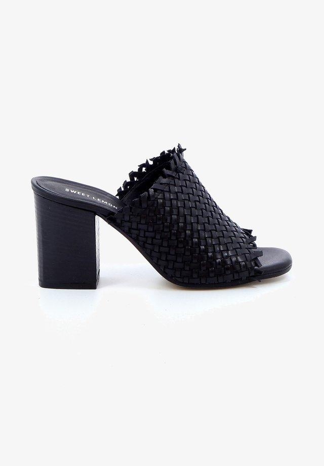 BSITT - Sandalen met hoge hak - black