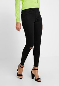 Spanx - SHAPING - Jeansy Skinny Fit - vintage black - 0