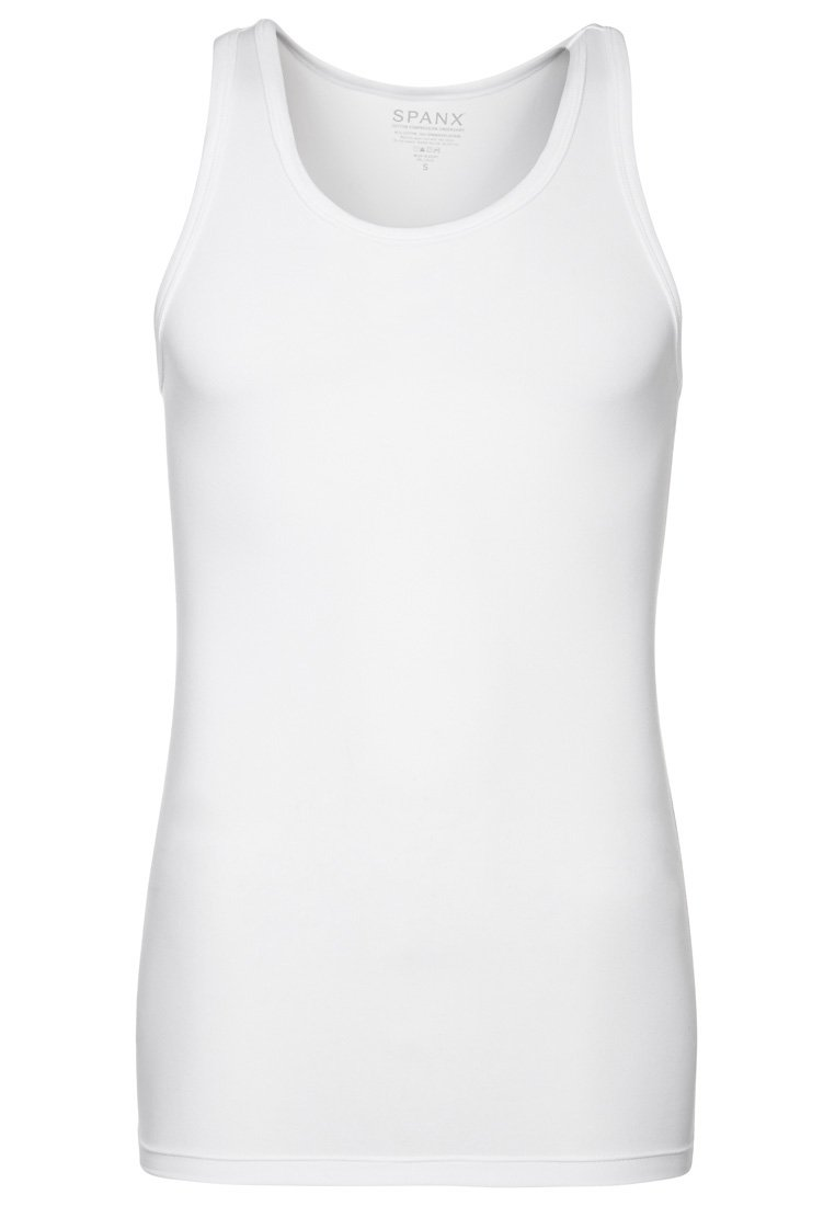 Spanx - COTTON COMPRESSION - Undershirt - white