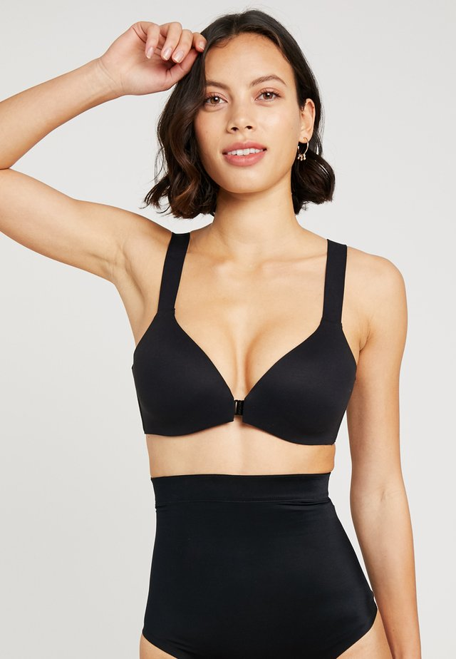 BRALLELUJAH WIRELESS - Triangle bra - very black