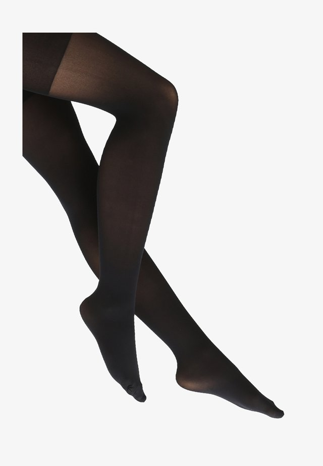 LUXE LEG HIGH WAISTED - Tights - very black