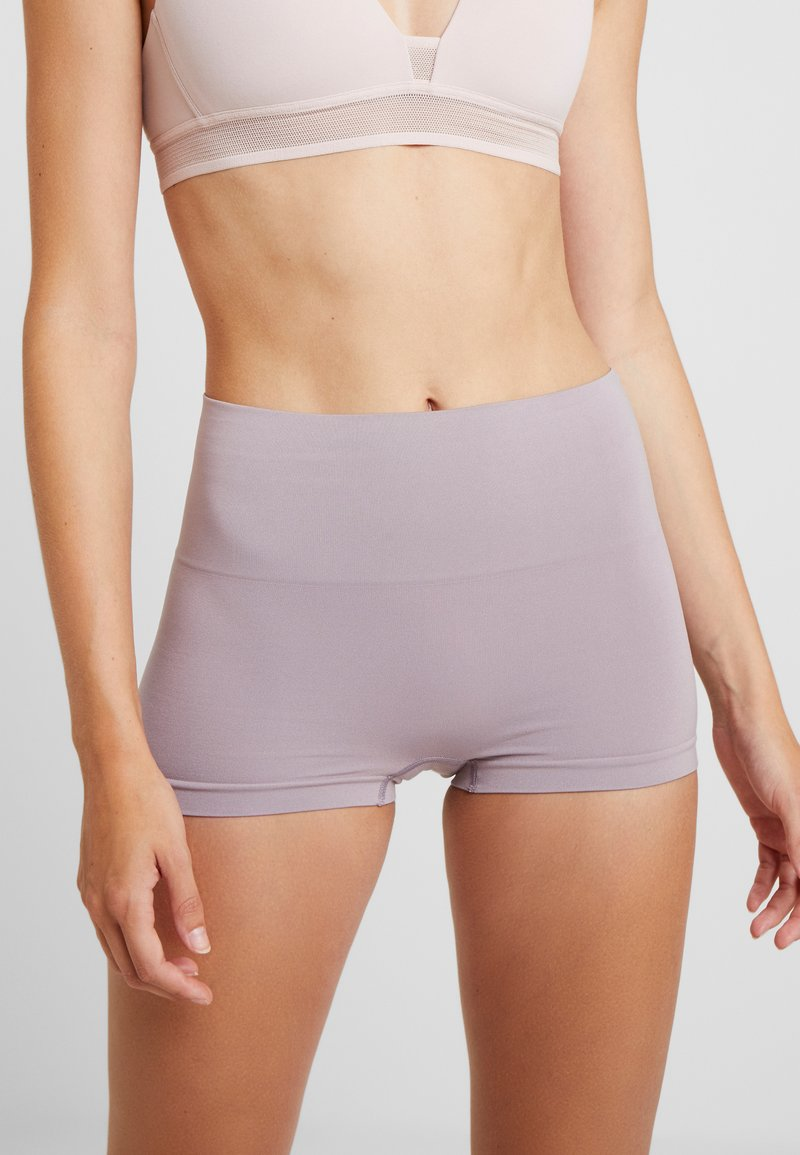 Spanx - EVERYDAY PANTIES BOYSHORT HEATHERED RICH - Shapewear - lavender