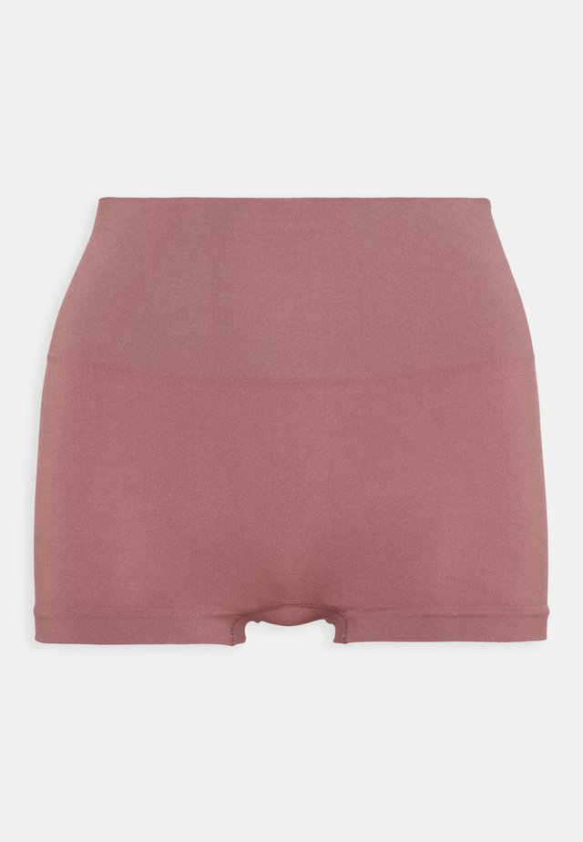 EVERYDAY PANTIES BOYSHORT HEATHERED RICH - Stahovací prádlo - plum petal