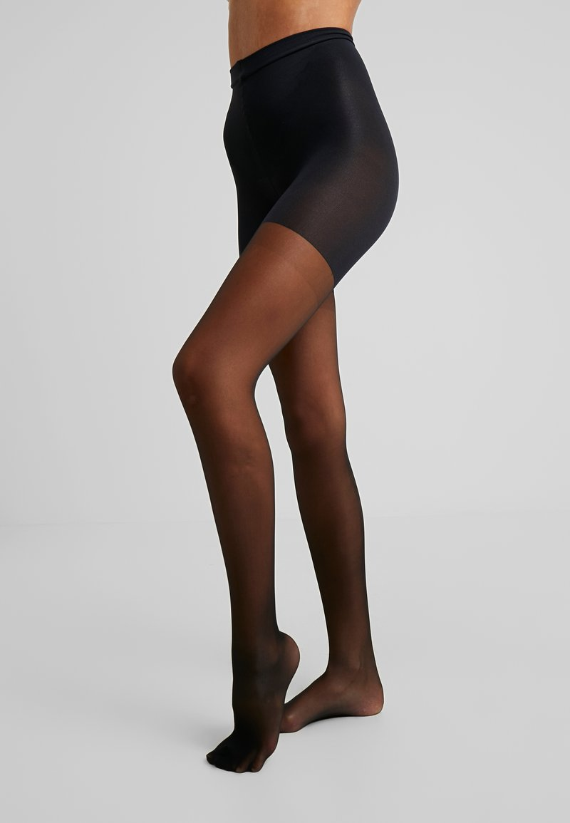 Spanx - SHAPING SHEERS - Collants - very black