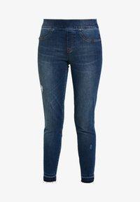 Spanx - DISTRESSED - Jeans Skinny Fit - medium wash - 3