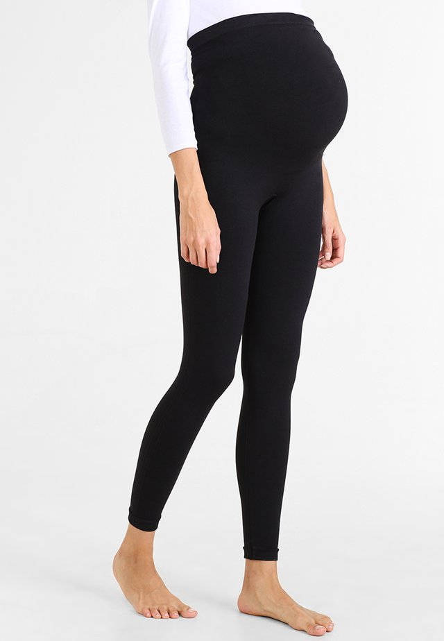 LOOK AT ME NOW  - Leggings - Stockings - very black