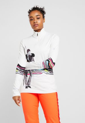 MODA - Long sleeved top - white