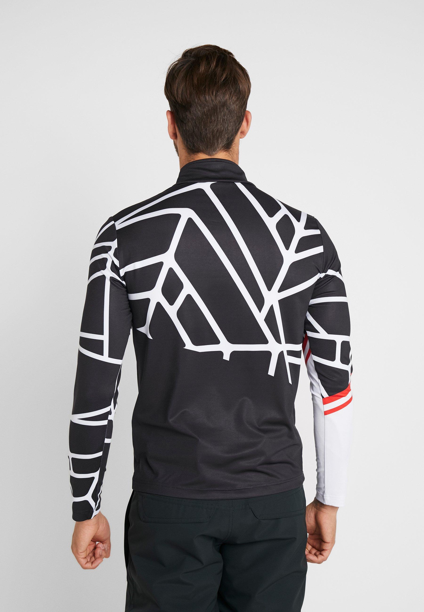 Spyder VITAL - T-shirt à manches longues - black/white
