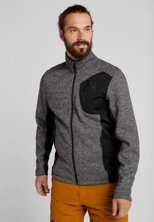 BANDIT FULL ZIP - Fleece jacket - black