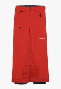 Spyder - BOYS PROPULSION - Snow pants - volcano - 2