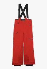 Spyder - BOYS PROPULSION - Snow pants - volcano - 0