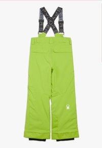 Spyder - BOYS PROPULSION - Snow pants - mojito - 1