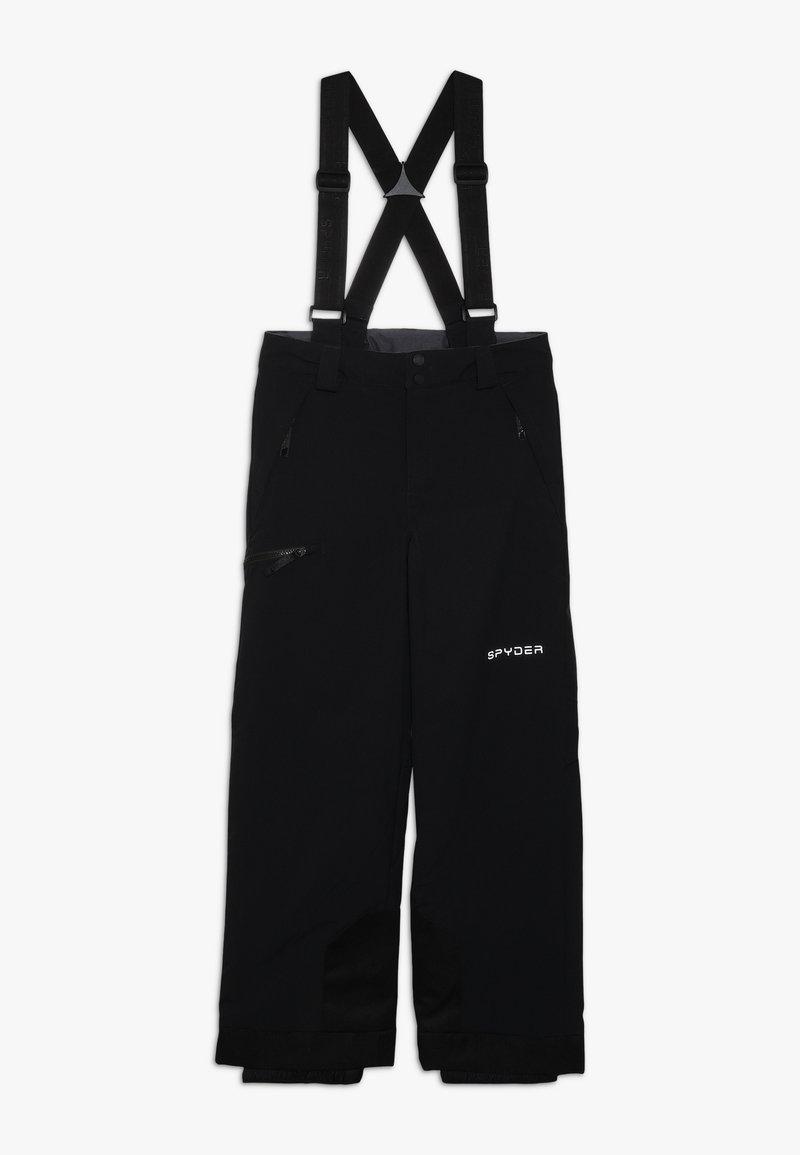 Spyder - BOYS PROPULSION - Pantaloni da neve - black