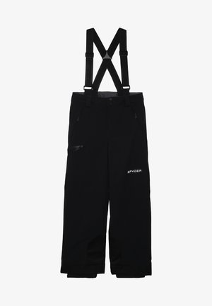 BOYS PROPULSION - Snow pants - black