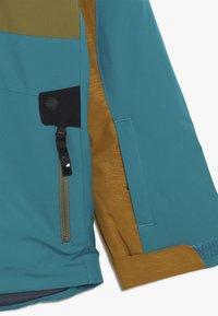 Spyder - BOYS TORDRILLO - Lyžařská bunda - turquoise/camel - 3
