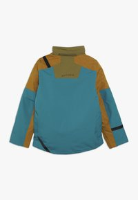 Spyder - BOYS TORDRILLO - Lyžařská bunda - turquoise/camel - 2