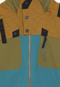 Spyder - BOYS TORDRILLO - Lyžařská bunda - turquoise/camel - 5