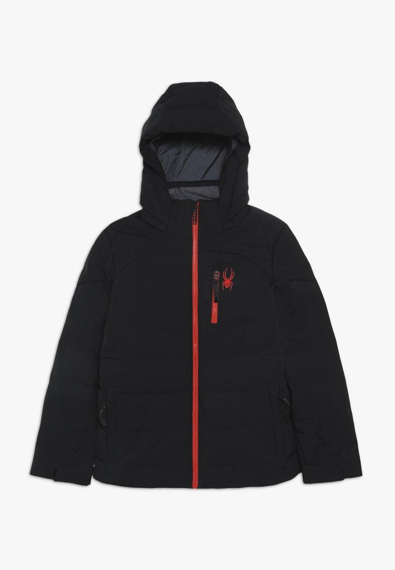 Spyder - BOYS IMPULSE - Lyžařská bunda - black