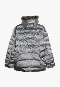 Spyder - GIRLS - Lyžařská bunda - silver - 1