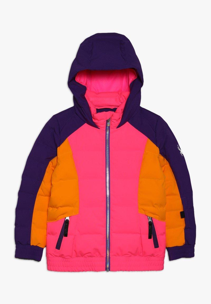 Spyder - BITSY - Lyžařská bunda - bryte bubblegum