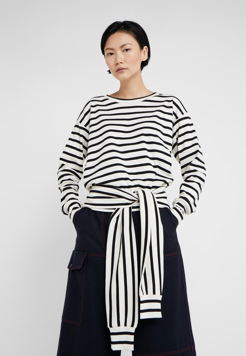 Sonia Rykiel - Langærmede T-shirts - ivoire/noir