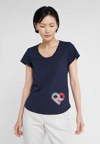 Sonia Rykiel - Camiseta estampada - nuit - 0