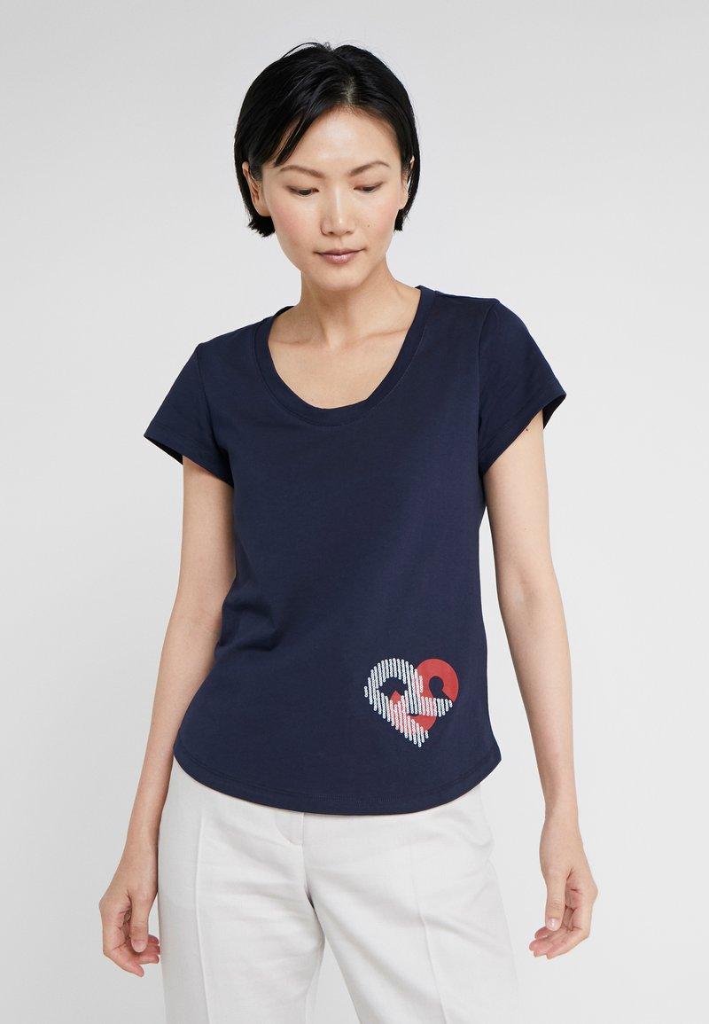 Sonia Rykiel - Camiseta estampada - nuit