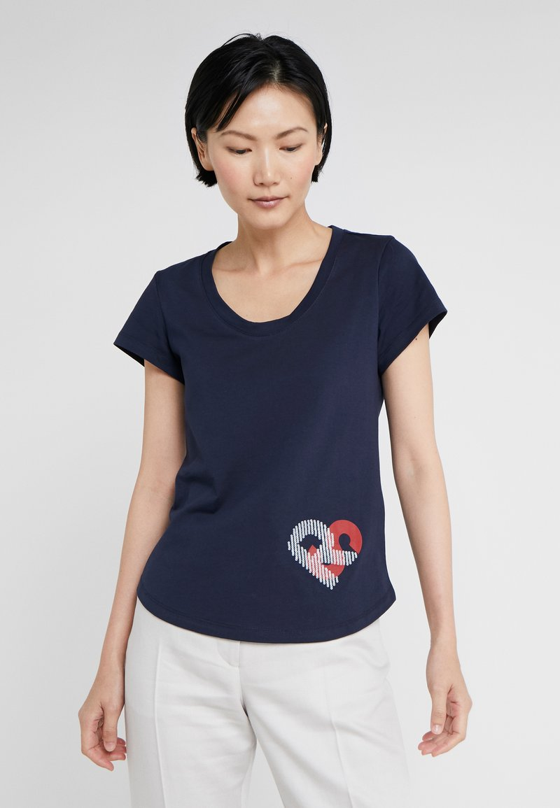 Sonia Rykiel - T-shirt imprimé - nuit
